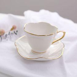 골드림 연잎 커피잔