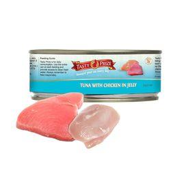 테이스티 프라이즈 참치와 치킨 70g고양이캔