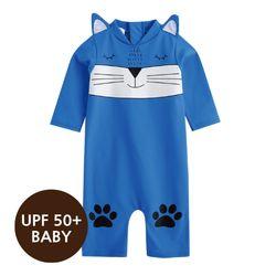 [베이비수영복] 마린캣츠(블루)수영복