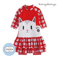 [베이비수영복] 레드캣수영복