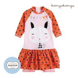 [베이비수영복] 오렌지캣수영복