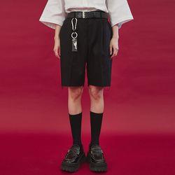 cutting damage half pants (2 color) - UNISEX