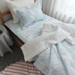 돌고래 리플 여름차렵이불 (3color)-싱글이불베개세트