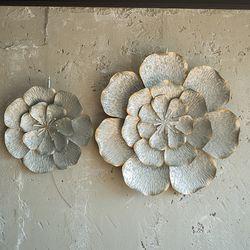JD6-31 빈티지 꽃잎 벽장식 (소)