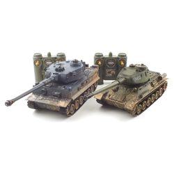 [~8/22까지] TIGER vs T-34 배틀탱크 RC 세트 (YAK237003SET)