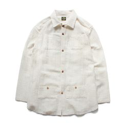 HOLIDAY LONG SLEEVES SHIRTS [Ivory]
