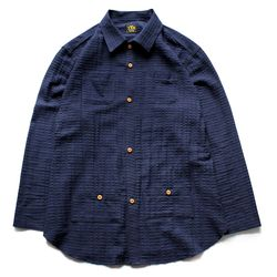 HOLIDAY LONG SLEEVES SHIRTS [Indigo]
