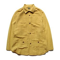 HOLIDAY LONG SLEEVES SHIRTS [Deep Yellow]