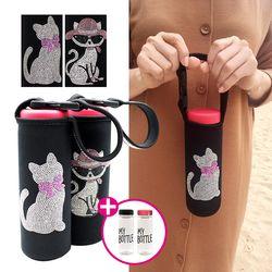 [보틀 증정] 고양이 핸디 보틀커버파우치일본 직수입