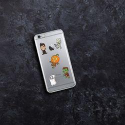 [아이폰6]NBJ-0123 할로윈 친구들 젤리케이스