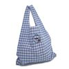 Blue Marche Bag (Check)
