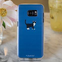 [ZenithCraft] 아이폰5 고양이 턱시도 젤리 케이스