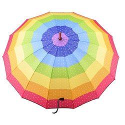 55 가로무지개우산 접이식우산 장우산 CH1398501