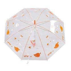 55 병아리투명우산 접이식우산 장우산 CH1398500