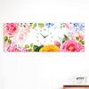 iw890-꽃향기가득히대형노프레임벽시계