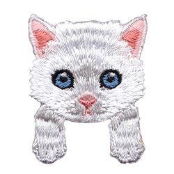 [하이데나이] Kitten white 벨크로 패치