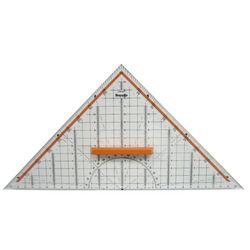 로트링 삼각 구성자 크립구비 반원분도기(RO699270)
