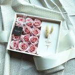 플라워용돈박스 peach rose
