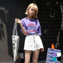 2188 SAY 프린트 티셔츠 (4colors)