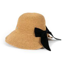 블랙리본 샤이니 벙거지 모자
