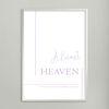 Almost heaven - A4 인테리어 메탈액자