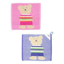 레인보우베어 고리 핸드타올 스타일2 (2color)