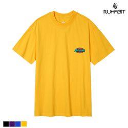 뉴해빗 - color logo - 7c-708 - 자수반팔
