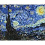 아트조이 DIY 명화그리기 별이 빛나는 밤에 40x50cm