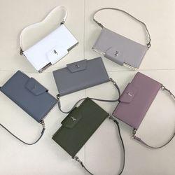 더알리 셀리 핸드폰 지갑 핸드백 (6컬러)