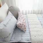 고양이 리플 여름차렵이불 (3color)-싱글이불베개세트
