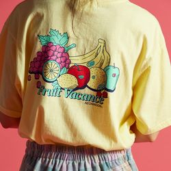 FRUIT T-SHIRT Yellow