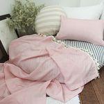 타슬 인견홑이불 (핑크) - 블랭캣