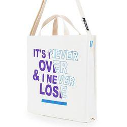 [핍스] PEEPS EB never over 2way cross bag(ivory)