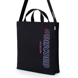 [핍스] PEEPS EB discord 2way cross bag(black)