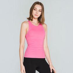 [메디테이션] CA6080 핑크 여성 요가복 운동복 나시