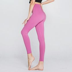 [메디테이션] PL3166 핑크 여성 요가복 운동복 긴바지