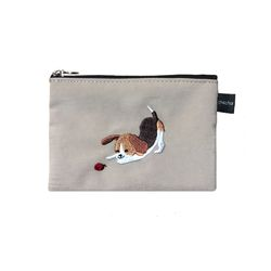 ladybug beagle pouch