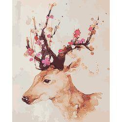 아트조이 DIY 명화그리기 행운꽃사슴 60x75cm