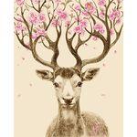 아트조이 DIY 명화그리기 행운꽃사슴 3 60x75cm