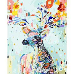 아트조이 DIY 명화그리기 행운꽃사슴 5 60x75cm