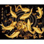 아트조이 DIY 명화그리기 황금잉어 (골드펄) 60x75cm