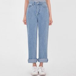 youse semi boots denim pants (s m)