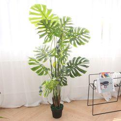 몬스테라 대형 조화 나무 (1.7M)인테리어 대형 조화