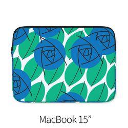 블루 로즈 (노트북 15인치 파우치)