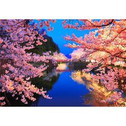 1000피스 직소퍼즐  벚꽃 절경