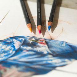 더웬트 PROCOLOUR 색연필 12색 틴케이스