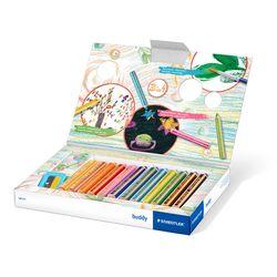 스테들러 어린이 140 버디 색연필 12색 크레용 세트