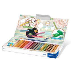 스테들러 어린이 140 버디 색연필 18색 크레용 세트