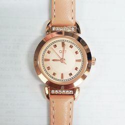 러블리 핑크 가죽밴드 시계(OW133905AP00)
