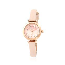 핑크 문페이즈 여성 가죽시계(OTW118601FPP)